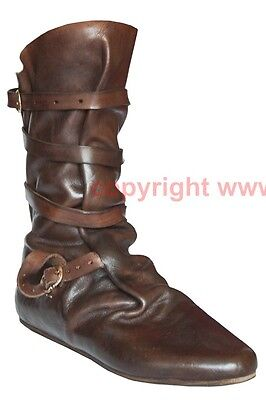 Schuhe Stiefel Mittelalter Larp Boots Shoes Medieval Halbschuhe 15. Jh