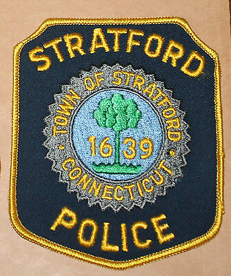 TOWN OF STRATFORD POLICE Connecticut CT PD patch