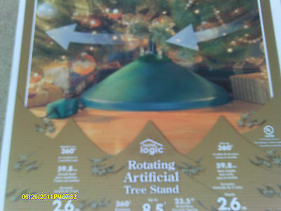 Home Logic Rotating Artificial Christmas Tree Stand, Revolving~ $129