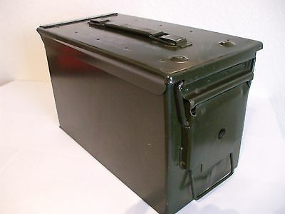 1 (one) used US Military m2a1 50 Cal Ammo Can Water Resistant Storage Box