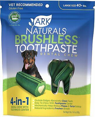 Ark Naturals Brushless Toothpaste-Dogs) 18oz Large  Free Shipping