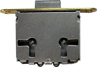 """FULL MORTISE DOOR OR DRAWER LOCK WITH KEY, 3-WAY MOUNT,1-1/2""""h x 1-3/4""""w  M1890"""