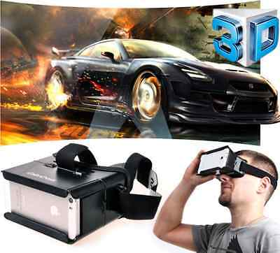 """Google 3D Video Glasses Colorcross Universal Virtual Reality For 4~6"""" Smartphone"""