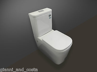 Toilet Suite Ceramic Back To Wall  Soft Close Pp Seat - P Or S Trap Gc89B