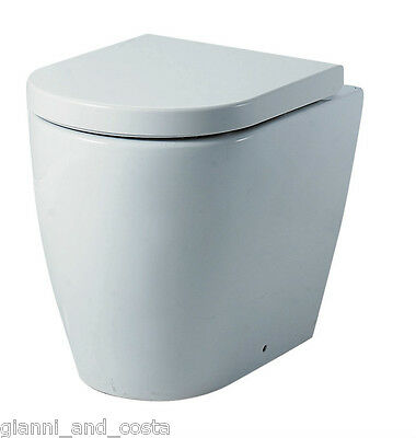Toilet Suite Ceramic Concealed Pneumatic Cistern - P Or S Trap Model Riva Gc89T