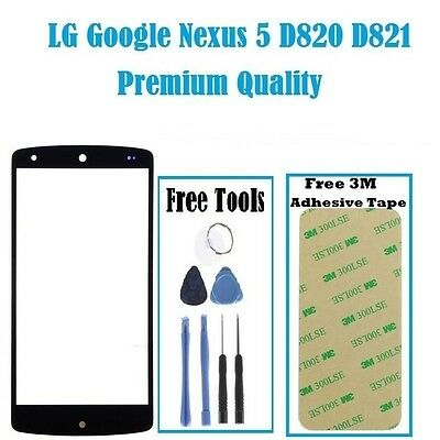 Outer Front Glass Lens Screen Replacement For LG Google Nexus 5 D820 D821