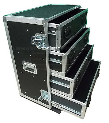 4 Drawer  HEAVY-DUTY Work Box Road Case MADE IN USA