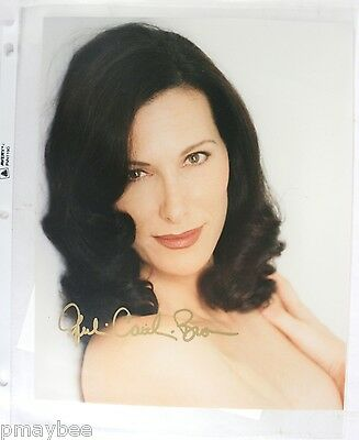 "RARE Autographed 8""x10"" Photo - Julia Caitlan Brown - Babylon 5 - Includes COA"