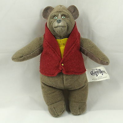"""Disney The Country Bears Stuffed Plush Doll Mcdonald Happy Meal 15cm 6"""" tall hh"""