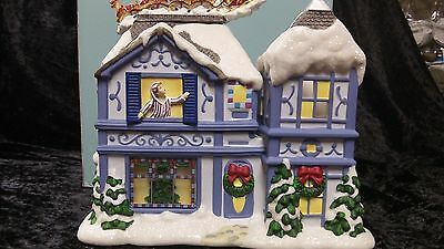 Partylite The Night Before Christmas Musical Tealight House