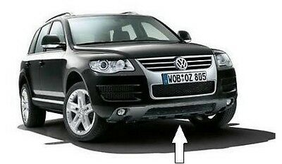 Genuine Vw Touareg Front Bumper Anthracite Accessory Under-Run Protector Trim