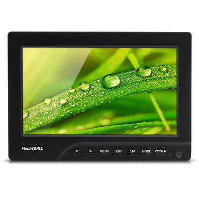 "Feelworld 7"" LED Camera Video Field Shooting Monitor DSLR 1080P HDMI Full Screen"