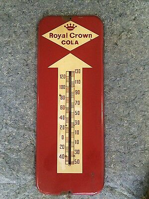 Antique Royal Crown Cola Thermometer - 1959