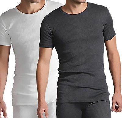 Mens Thermal Extra Warm Short Sleeve T-Shirt Body Warmer Underwear