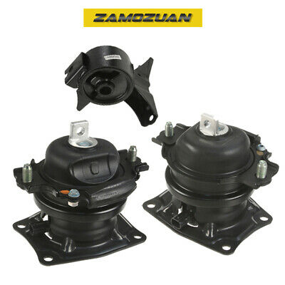 Front Right /& Rear Engine Mounts 3PCS Set for 99-04 Honda Odyssey 3.5L Front