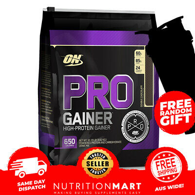 OPTIMUM NUTRITION PRO GAINER 10lbs + ON SHAKER PRO COMPLEX GAINER