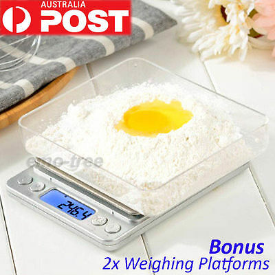 3kg/0.1g LCD Digital Kitchen Weight Scale Electronic Postal Blance Food Scales