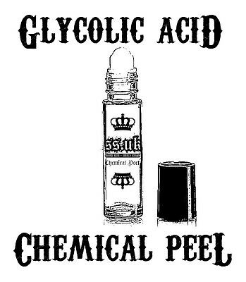 40% PURE GLYCOLIC ACID Chemical Peel Roll-On All Skin Types Scars Acne Wrinkles