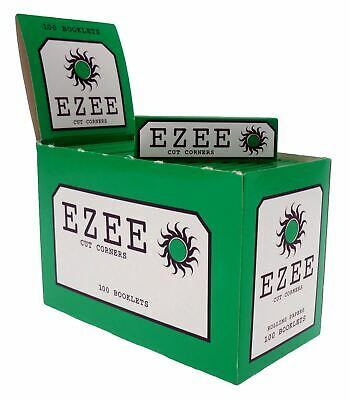 1 5 10 25 50 100 Ezee Papers Cigarette Smoking Rolling Papers Cut Corners