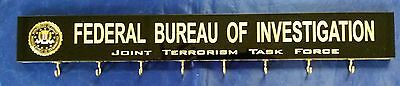 FBI JTTF Federal Bureau of Investigation Joint Terrorism Task Force 8 Key Holder