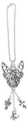 Car Charm - Guardian Angel - Hang from Your Rear View Mirror!