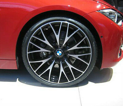 Bmw F30 3 Series Genuine Cross Spoke 404 20 Gloss Turned Rims Wheel