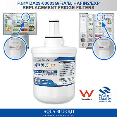 Da29-00003G-Wf Replacement Water Filters For Samsung Fridge Model Srs611Dls