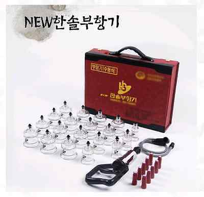 CUPPING SET 19 CUPS Slimming Vacuum Therapy Slimming Massage acupuncture HANSOL