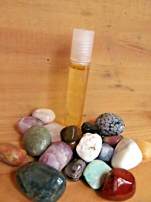 87-Roll on huile d'émeraude-Purification-Relaxation-Courage-Reiki-Feng shui
