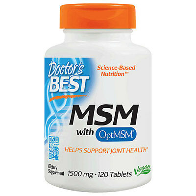 Best MSM - 120 x 1500mg Tablets