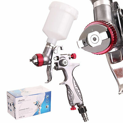 Best New Original AUARITA Mini HVLP Paint Spray Gun H-887 Nozzle 0,5