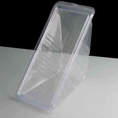 Sandwich Wedges Deepfill Hinged (100) Disposable Plastic Sandwich Packaging