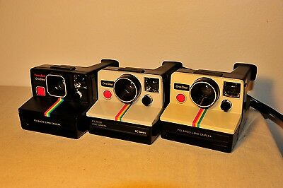 *Fully Tested* Polaroid SX-70 Rainbow LOT One Step, BC Edition, Time-Zero