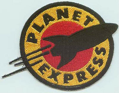 Futurama Planet Express embroidered patch