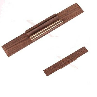 Replacement Parts New Rosewood Wood Classical Guitar Bridge