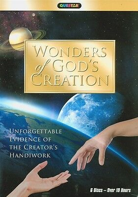 Wonders of God's Creation (DVD, 2011, 6-Disc Set) New