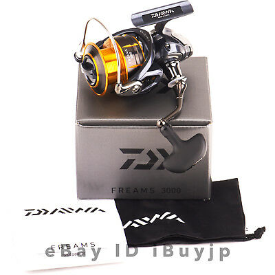 Daiwa 15 Freams 3000 Mag Sealed Saltwater Spinning Reel 960700