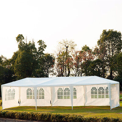 10x30ft Portable Wedding Party Tent Gazebo Canopy Garden Shelter