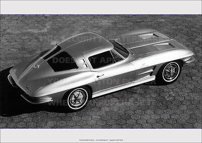 CHEVROLET CORVETTE STING RAY 1963 A3 POSTER PICTURE PHOTO IMAGE PRINT x
