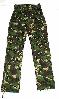 British Army Special Forces / SAS Windproof Gaberdine Trousers DPM Camo Unused