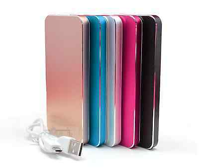 8000mAh USB Thin Slim Power Bank Protable Battery Charger For Cell Phone