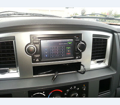 Car Stereo GPS Navigation Radio DVD for Chrysler 300c Jeep Commander Dodge RAM