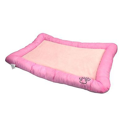 Large Non Slip Luxury Washable Dog Cat Mattress Mat Warm Soft Fleece Pet Bed