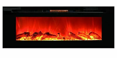 "60"" INSERT LINEAR ELECTRIC FIREPLACE; 1500 WT; SAFE CUTOFF; REMOTE, CSA/UL"