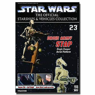 Star Wars Vehicles Magazine with STAP