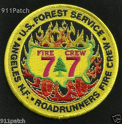 Rio Hondo ROADRUNNERS Fire Crew 77 US Forest Service Wildland FIREFIGHTER Patch