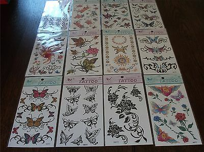 17x10cm King Horse Temporary Tattoos / Assorted Designs Body Art Removable /0207