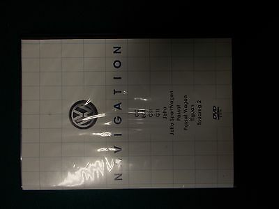 2009 Volkswagen Navigation Map DVD ROM