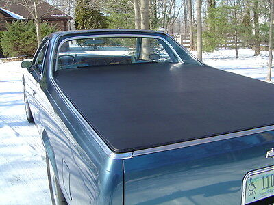 1978-87 El Camino Craftec Hatch Style Tonneau Bed Cover #252108