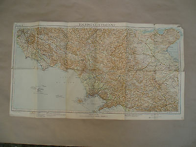 "Vintage Map ""Touring Club Italiano"""